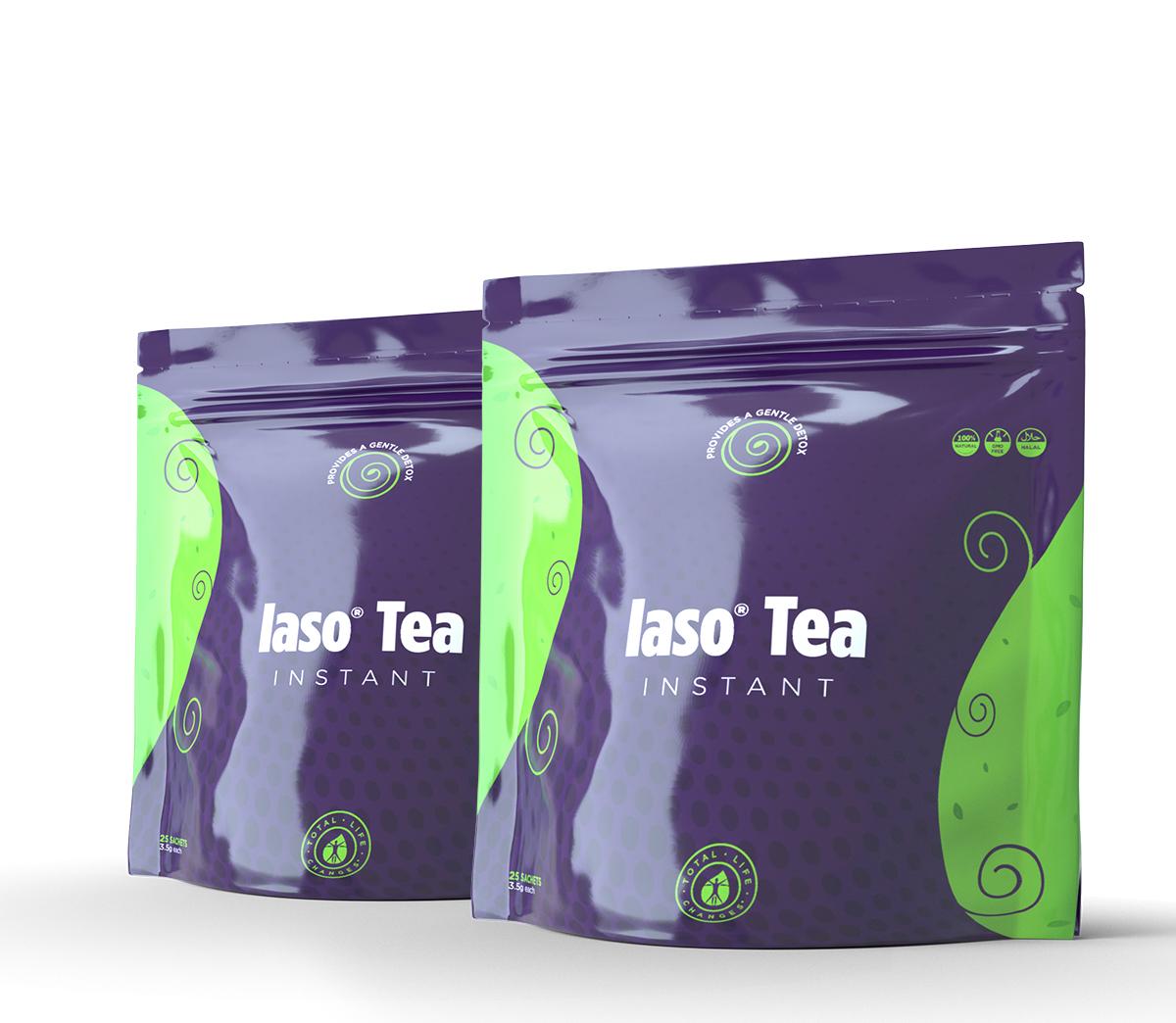 INSTANT IASO TEA - 50 SACHETS Item# E152UB